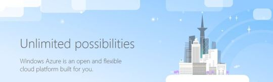 Azure - Unlimited possibilities